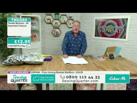 Sewing Quarter - Sensational Sunday - 11th June 2017