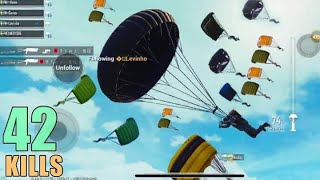 WILL THEY SURVIVE ME AND LEVINHO? | 42 KILLS | PUBG MOBILE