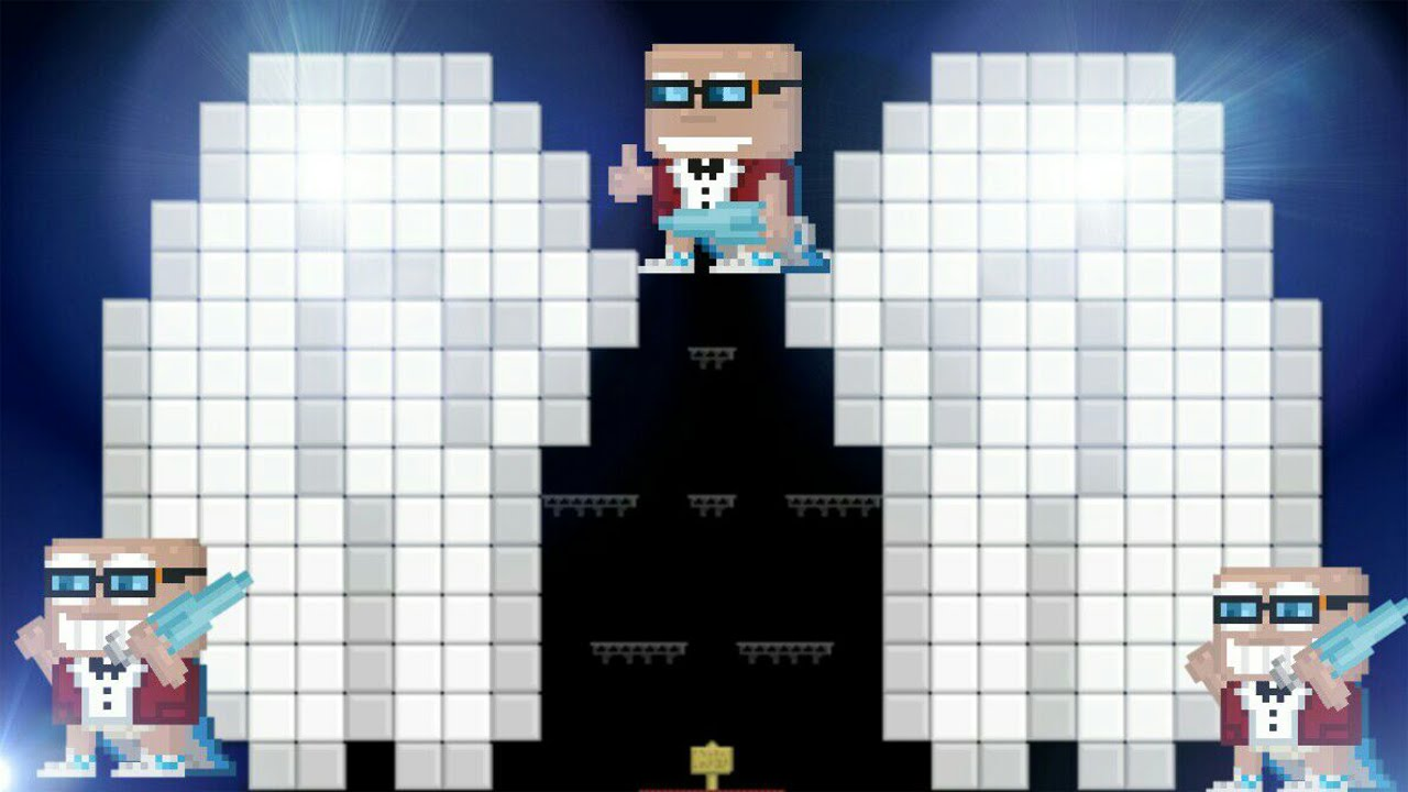 Growtopiahow To Make Angel Wings Pixel Art Youtube