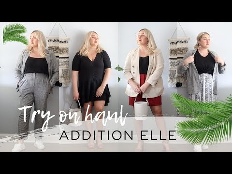 Addition Elle 2019 Try On Haul + Discount Code