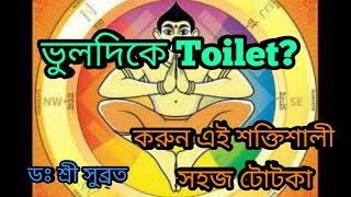 TOITET বাড়ির ভুল জায়গায় ?  সরল বাস্তু প্রতিকার|| Predictions in Bengali by DR SHREE SUBRATA।