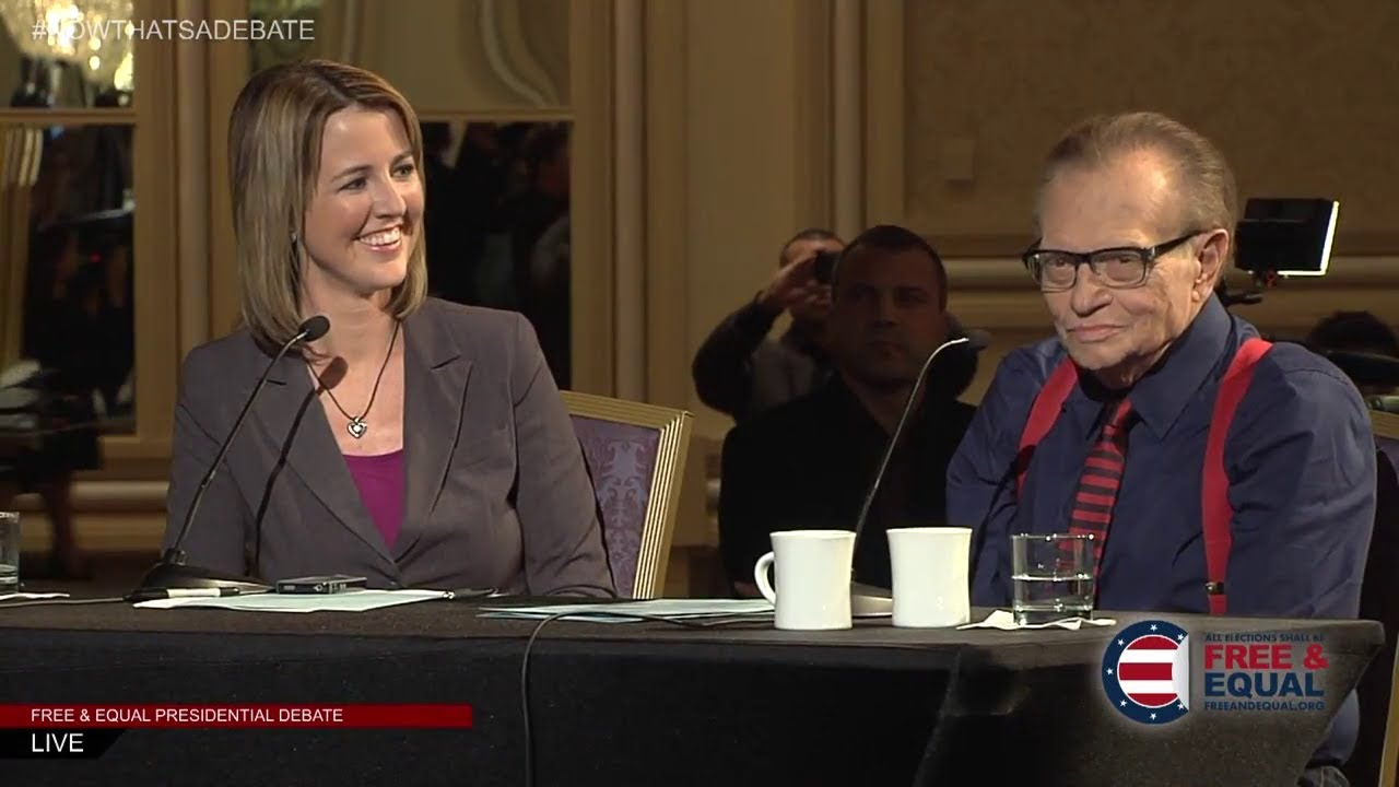 2012 Presidential Debate Moderated by Larry King & Christina Tobin