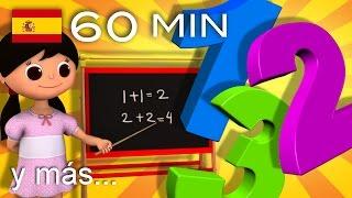 Canciones para aprender los colores, los números, las formas | Y muchas más | ¡LittleBabyBum!