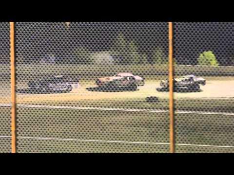 Alan Ferguson Heat Race Nevada Speedway 8-30-14