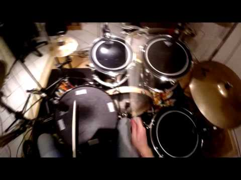First Person Drumming ~ PRO SOUND ~ 60fps ~ HD1080