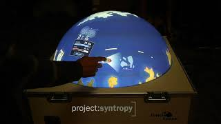 Interactive Multitouch Globe with Multiuser Games for Science Exhibition