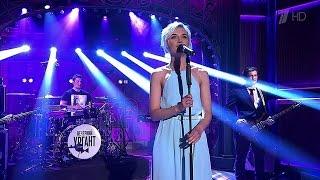 """Вечерний Ургант. Полина Гагарина - """"A million voices"""" (29.04.2015)"""