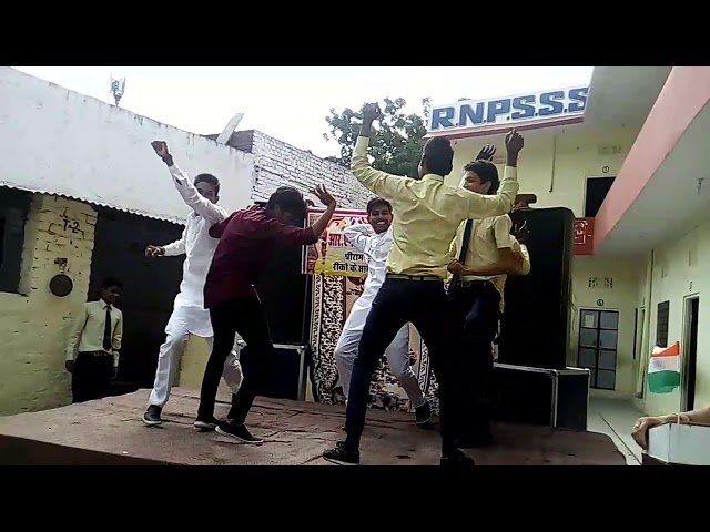 Mahendra in group dance