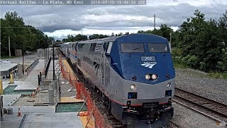 Who expected this? Amtrak SC-44 Test Train with 130 & Phase 3 Cars!