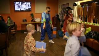 Поролоновое шоу для детей на детский праздник и день рождения по Москве и московской области