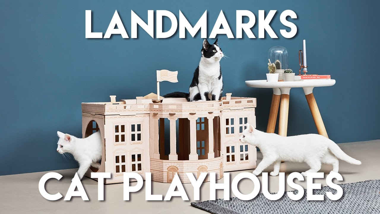 landmarks by poopy cat la maison de jeu pour chats num ro 1 youtube. Black Bedroom Furniture Sets. Home Design Ideas
