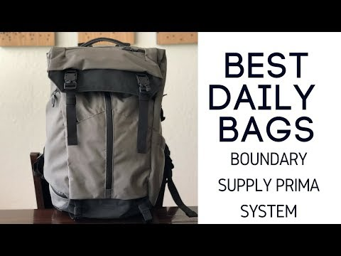Best Daily / Camera Bags: Boundary Supply Prima System Review