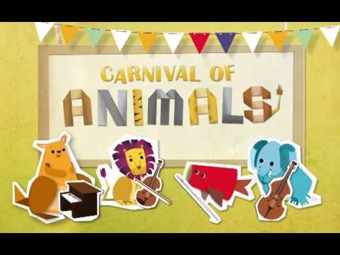Carnivals of Animals: Free music app at App store - YouTube