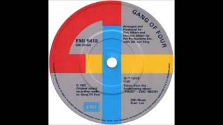"""Gang Of Four """"Is It Love?"""" (Dance Mix)"""