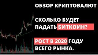 Прогноз по биткоину. Обзор крипторынка на 19 января. СКОЛЬКО БУДЕТ ПАДАТЬ BITCOIN.