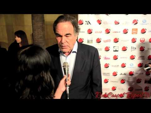Oliver Stone at the 2013 LA EigaFest Opening Night Red Carpet #LAEigaFest @TheOliverStone