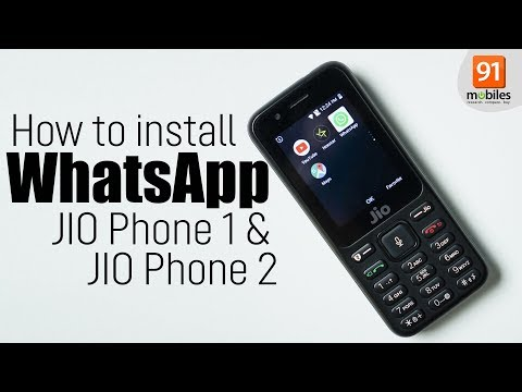 Does Jio Phone Support WhatsApp and Facebook? | 91mobiles com