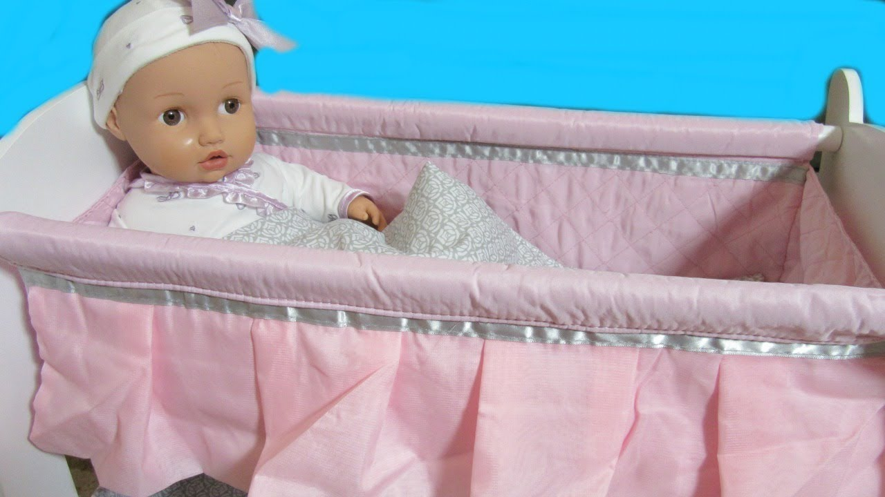 Toys R Us Baby So Sweet Wooden Crib Bassinet Unboxing By