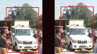 Anti-encroachment drive: Mandi secretary's vehicle used to crush vegetables in UP, video goes viral