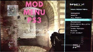[TUTORIAL] Installare MOD MENU SPRX PS3!!! CoD MW3 Playstation 3