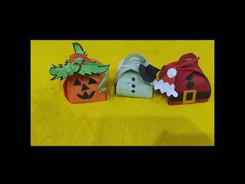 Curvy Keepsake Gift Box- DIY Momal Art and Craft- Paper Gift Box for Kids