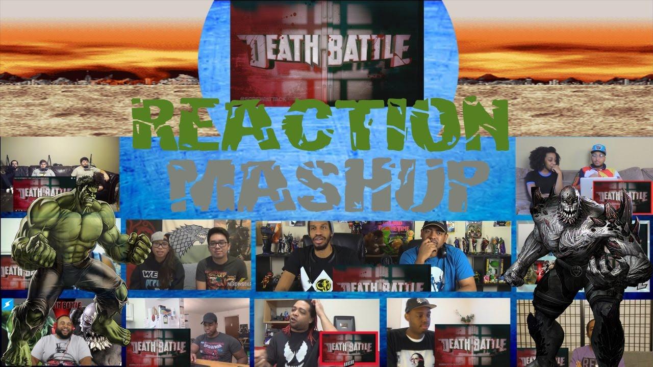 Hulk VS Doomsday Death Battle Fight Scene Reaction Mashup ... Doomsday Vs Hulk Death Battle Reaction