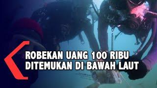 Robekan Uang Rp 100 Ribu dan Baju Pramugari Ditemukan di Bawah Laut Pencarian Sriwijaya Air