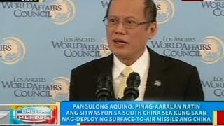 PNoy, ginawaran ng Honorary Doctor of Humane Letters degree ng Loyola Marymount University