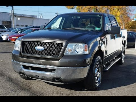 2006 ford f 150 xlt 5 4 triton v8 pickup youtube. Black Bedroom Furniture Sets. Home Design Ideas