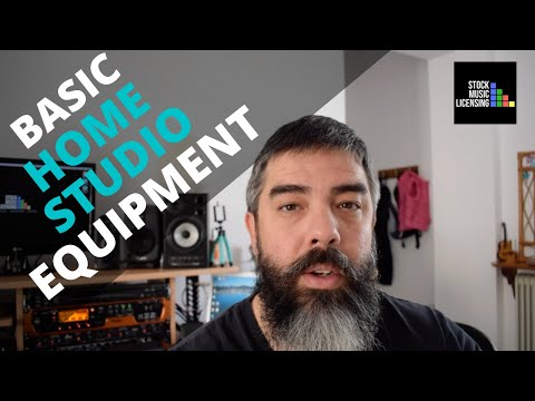 Basic Equipment For Home Recording Studio (A Complete Beginner's Guide)