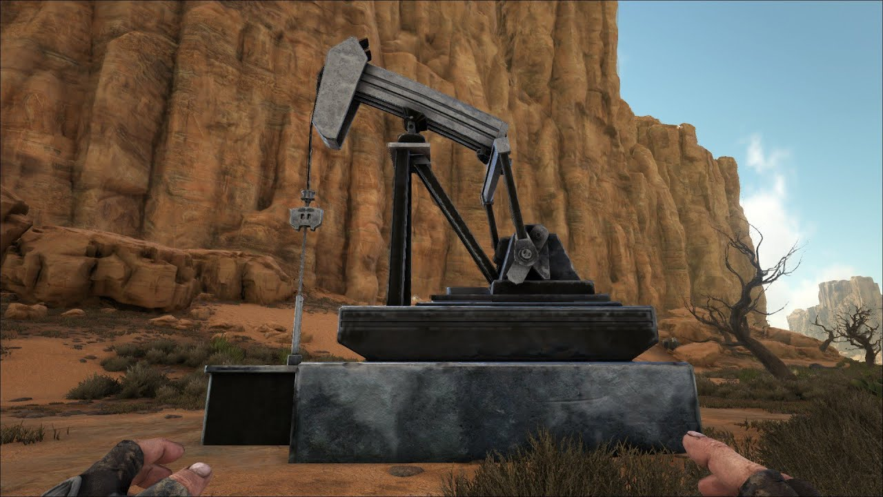 how to get oil in ark scorched earth without pump