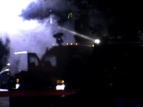 Raw: Suspect, Police Trade Gunfire in Trenton
