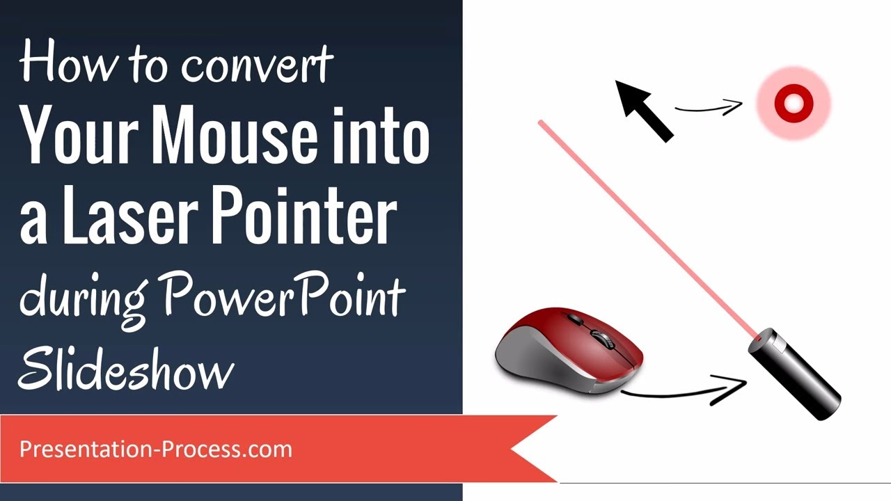 How to convert mouse into laser pointer during powerpoint slideshow how to convert mouse into laser pointer during powerpoint slideshow presentation process toneelgroepblik Choice Image