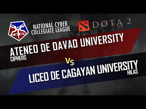 Dota 2: Ateneo De Davao vs Liceo de Cagayan University (NCCL Viz-Min) - DENKI