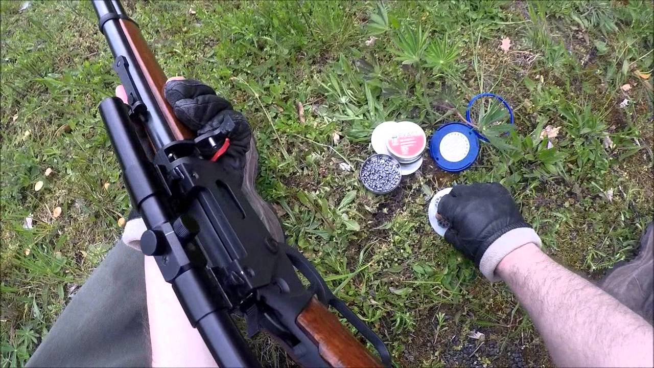 Co gewehr walther lever action with scope m youtube