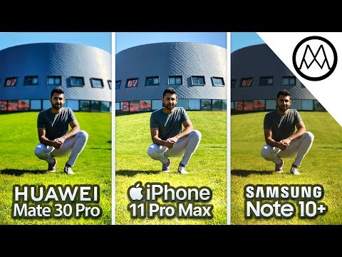 Huawei Mate 30 Pro vs iPhone 11 Pro Max vs Samsung Note 10 Plus Camera Test Comparison!