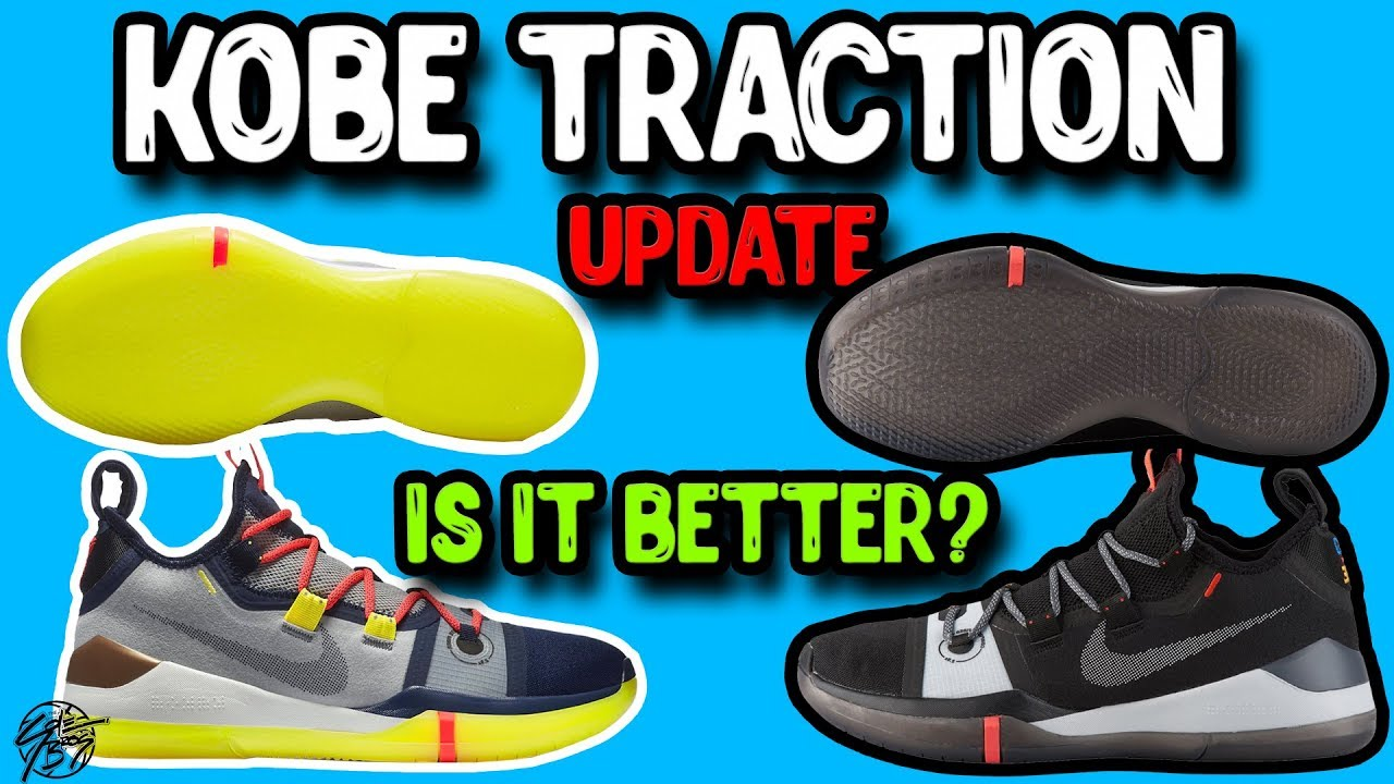 59c6751bde6c Nike Kobe AD Exodus Traction Update! Different Colorway Has Better  Performance