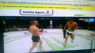 conor mcgregor vs nate diaz completo