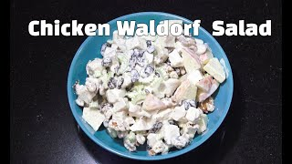 Chicken Waldorf Salad - Easy Chicken Salad - Youtube
