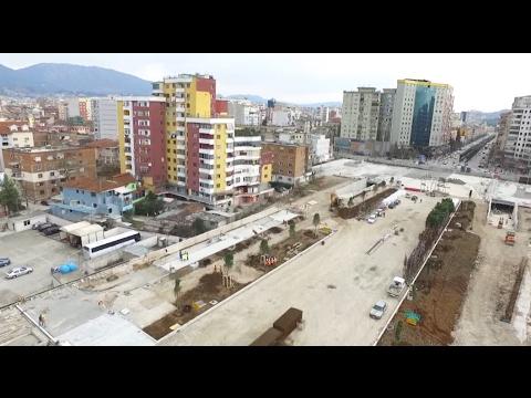 Report TV - Merr formë Bulevardi i Ri  i Tiranës, nis mbjellja e pemëve
