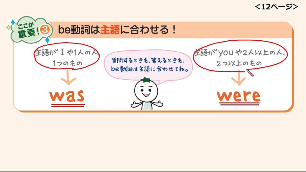 英語 中 2