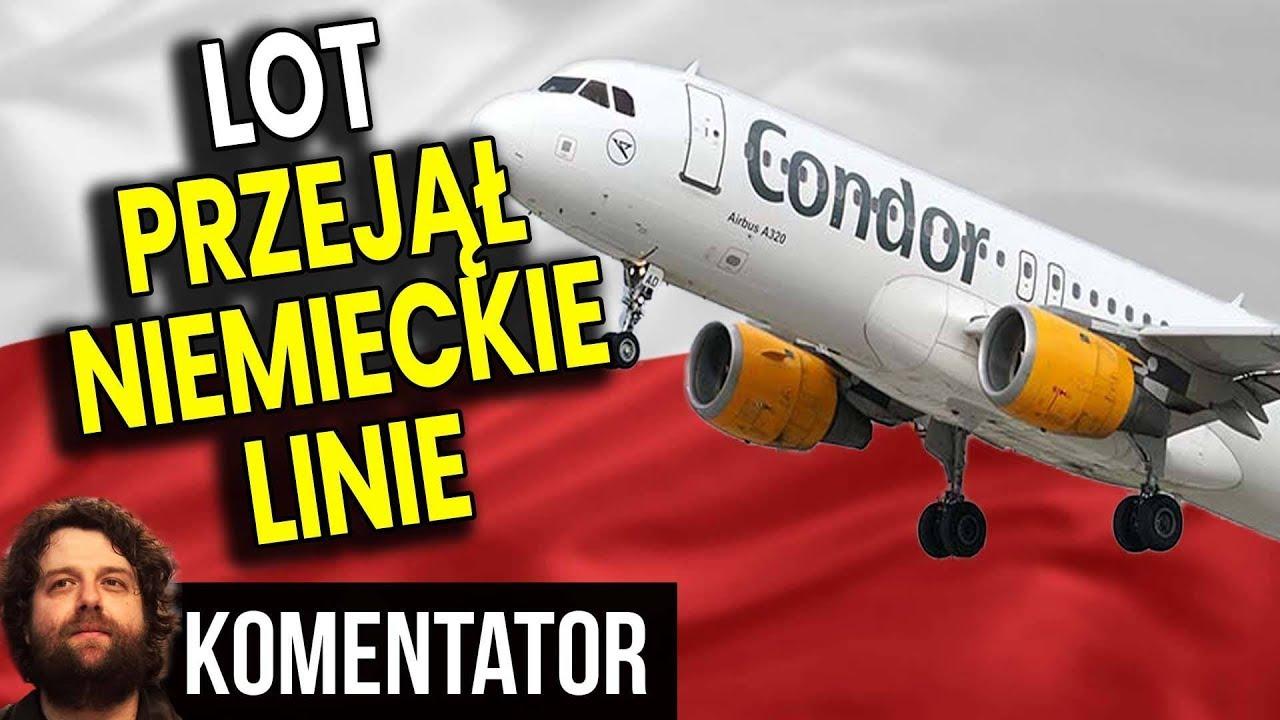 Polski LOT Przejął Niemieckie Linie Lotnicze - Skąd Ma Pieniądze? - Analiza Komentator Inwestycje PL