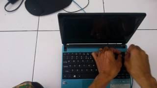 Care Membuka Keyboard Notebook Acer Aspire One D270