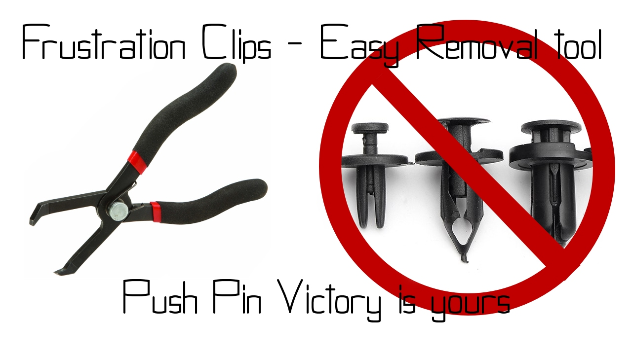 Car Push Retainer Rivet Trim Clip Fastener Pins Clips Pliers Puller Auto Tool