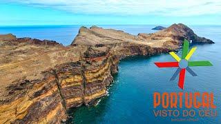 Ponta de São Lourenço - Madeira Island aerial - 4K Ultra HD