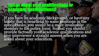 Police psychological exam questions