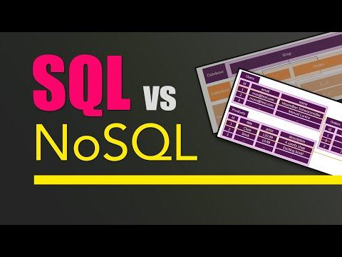 SQL vs NoSQL or MySQL vs MongoDB
