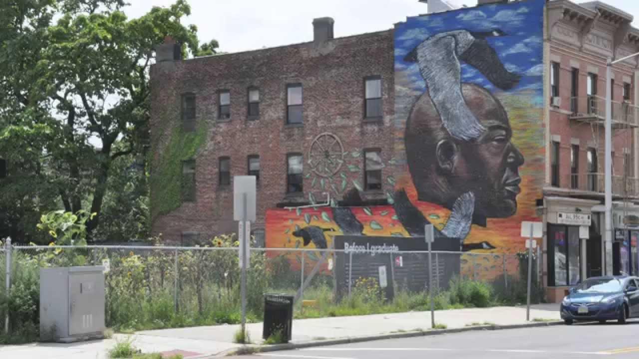 Graffiti art jersey city - Jersey City Murals Program Compilation 2014