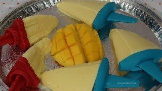 Paletas Heladas de Mango Cremosas - Recetas en Casayfamiliatv