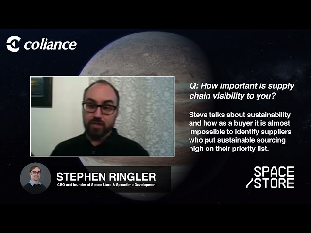 Coliance talk to Space Store - The importance of Supply Chain Visibility.